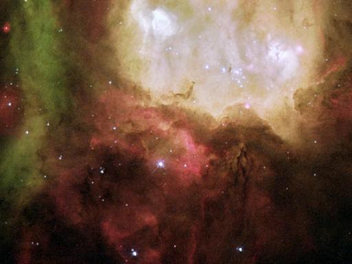 zelfs het heelal is wonderschoon!