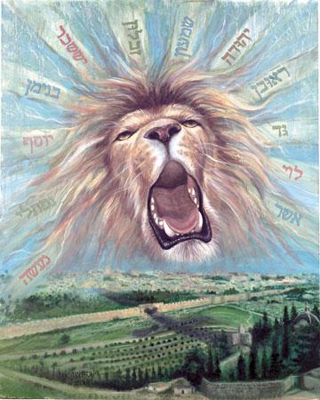 de Heer Jezus is de Leeuw van Juda Openbaring 5 vers 5