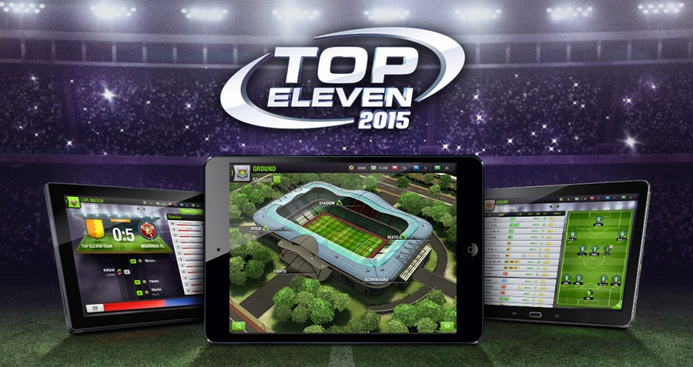 Top Eleven 2015 V4.1.5 Apk for android