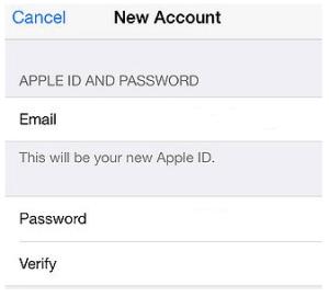 How to create Apple ID 2