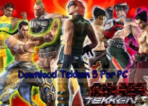 Play and Download Tekken 5 For PC