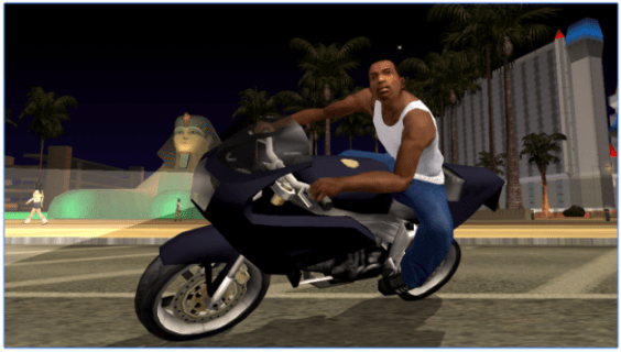 Grand Theft Auto San Andreas for PC Screenshot