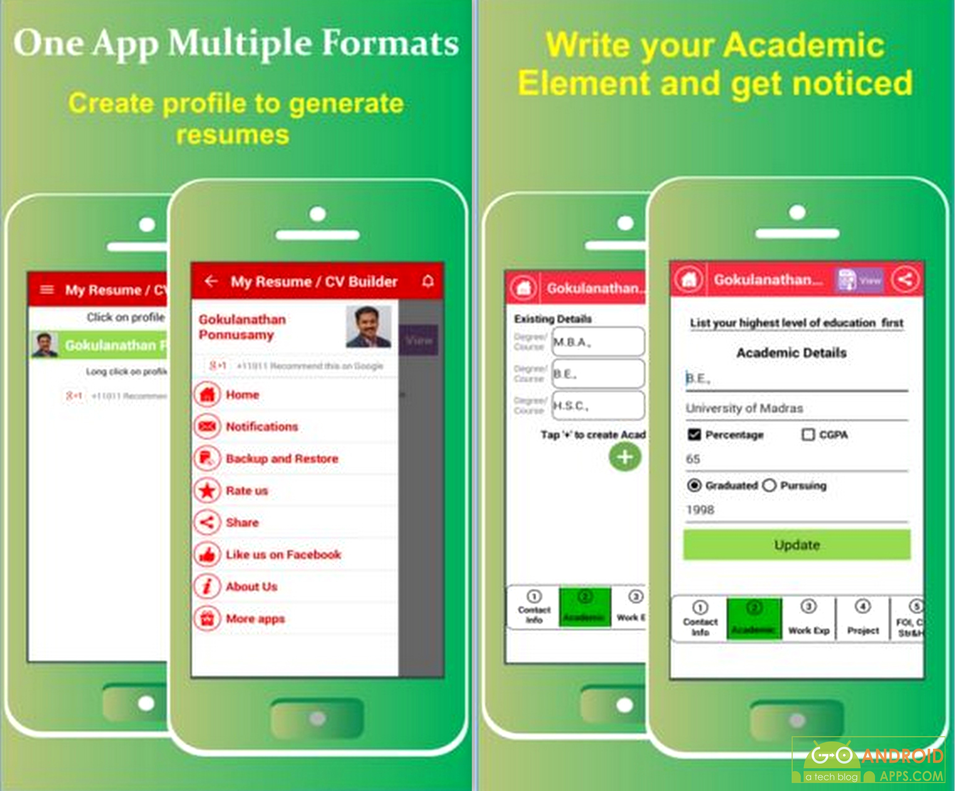 Free Resume App For Android 5 Best Business Essential Apps For Android Appinformers