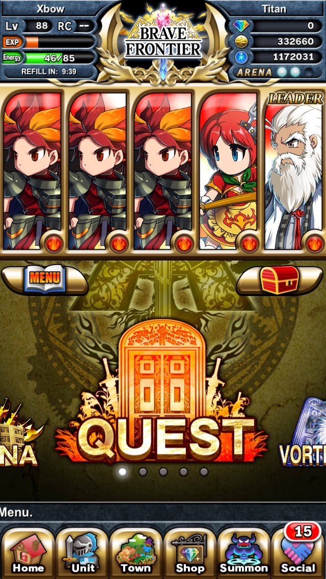 Appinvasion Brave Frontier : appinvasion, brave, frontier, Thread!, Arena, Squad, Rating, Different, Squad!, Invasion