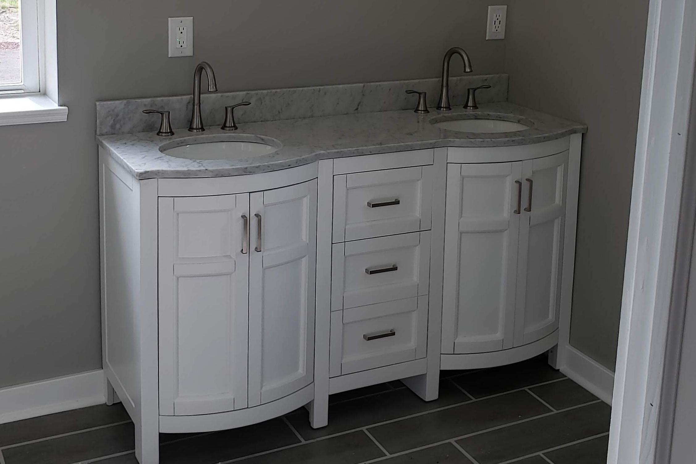 Bathroom Vanity Remodel Applause Plumbing And Heating