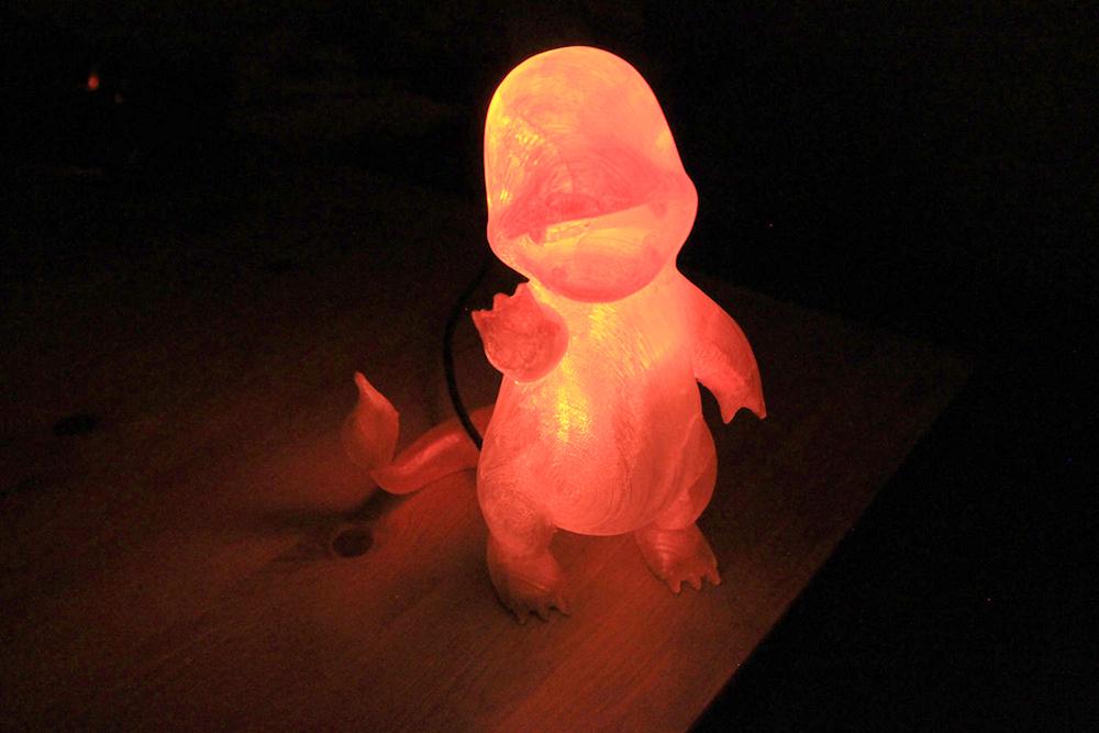 lampara pokemon charmander
