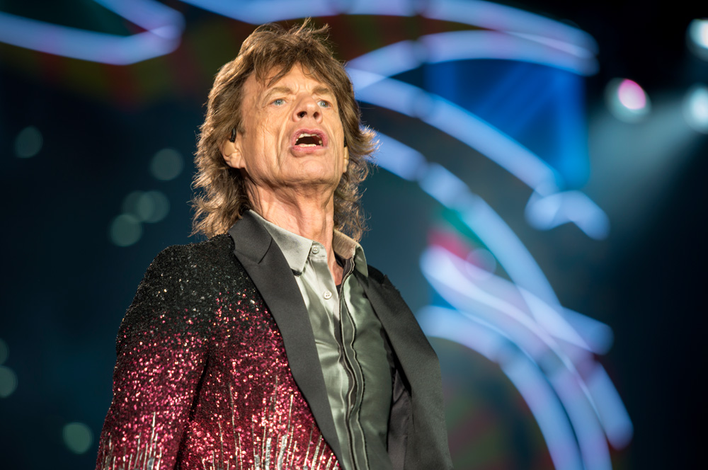 Mick Jagger - The Rolling Stones en Chile | Fotógrafo: Javier Valenzuela