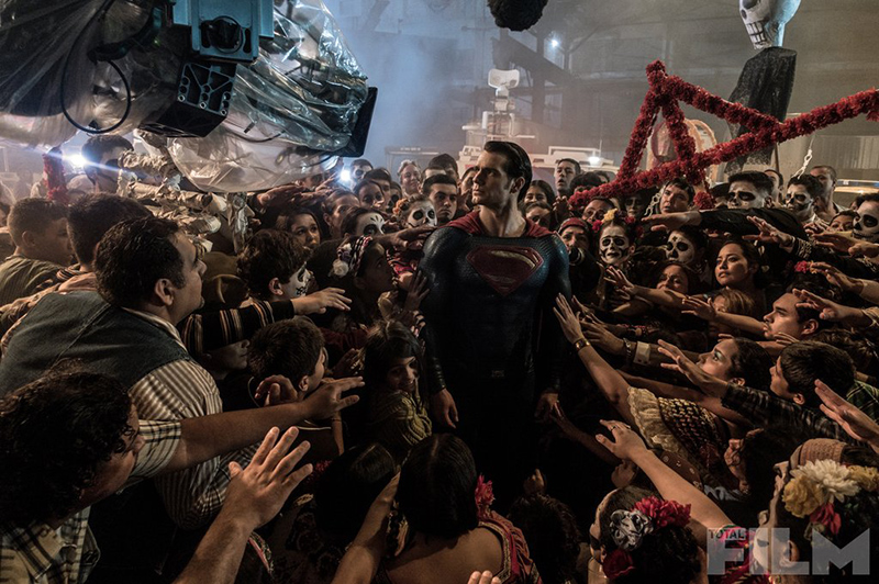 Batman v Superman rodaje