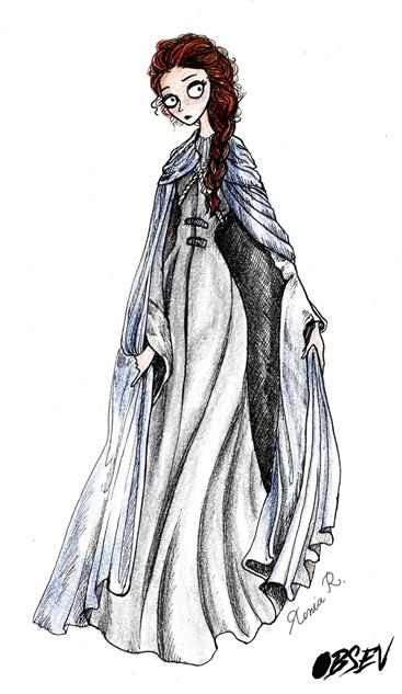 Game of Thrones Tim Burton Sansa Stark