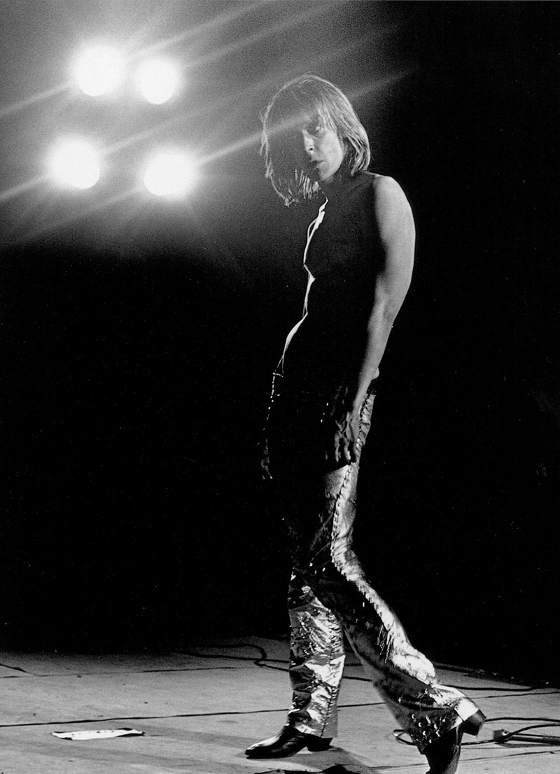 iggy pop por mick rock