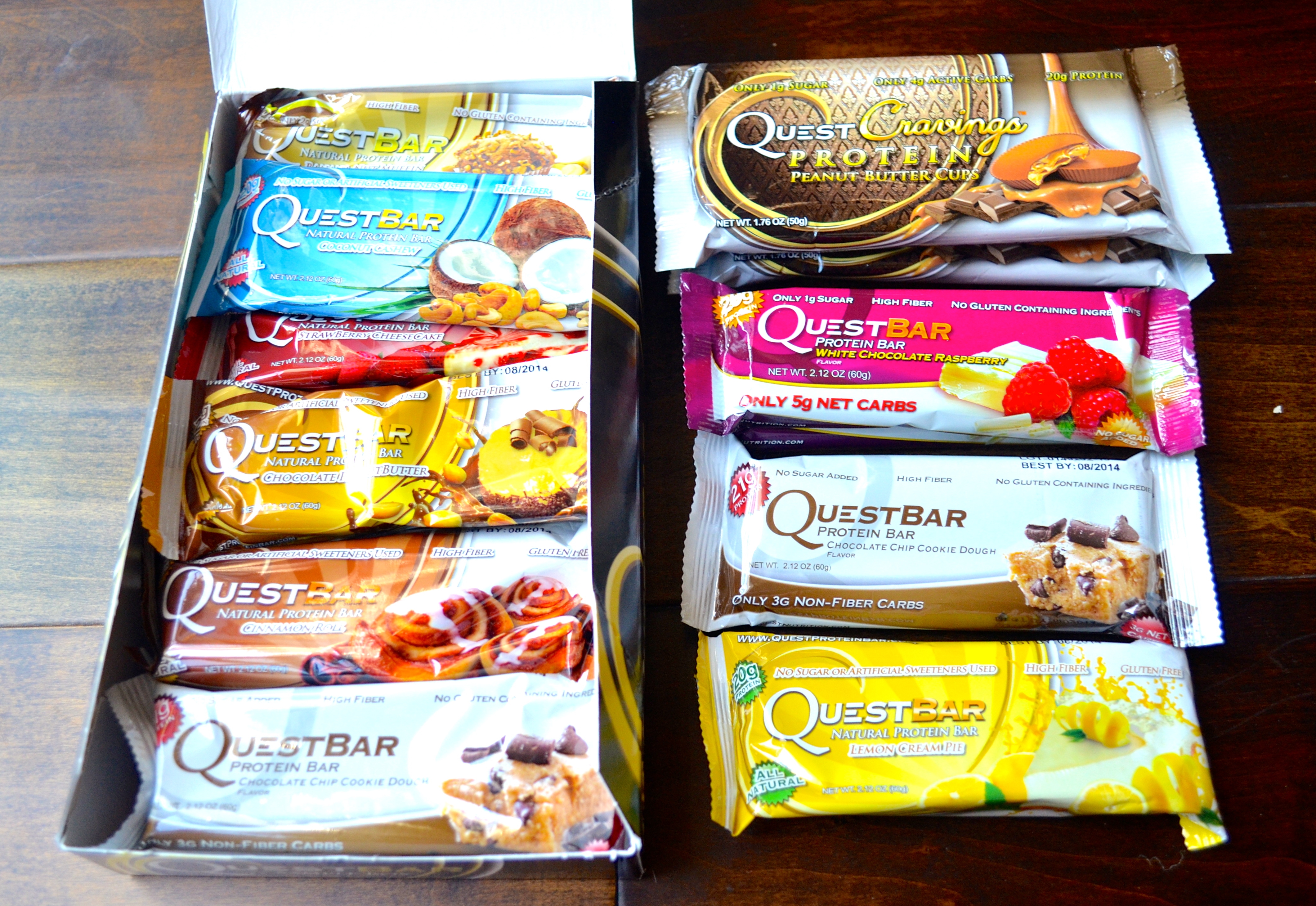 Quest Bar Giveaway & Review! - Apple of My Eye