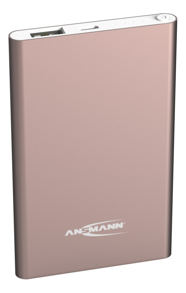 Ansmann Powerbank 4.000mAh Roze