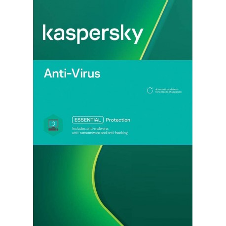 Kaspersky Anti-Virus | 1-PC | 2-jaar | 2021