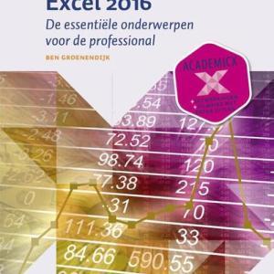 Aan de slag met Excel 2016 - Ben Groenendijk - Paperback (9789058755308)