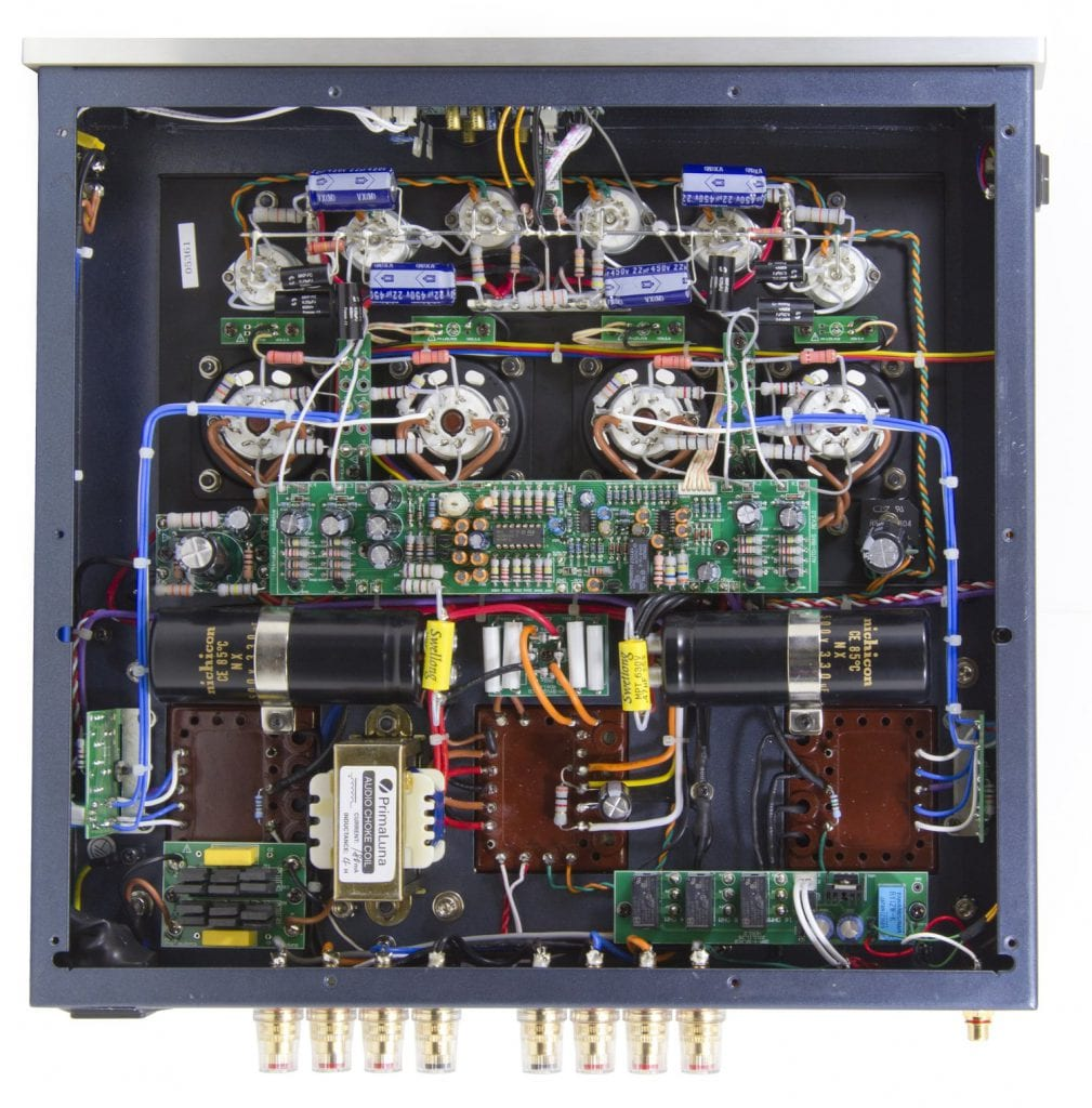 Prima Luna Power Amplifier Inside