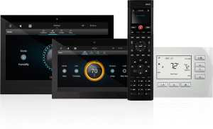 Control4 user interfaces