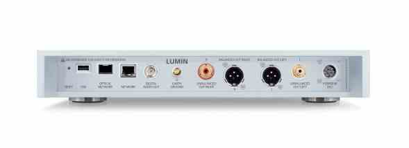 Lumin Network Players and DACs
