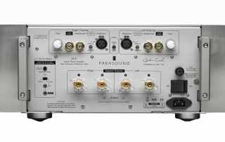 Parasound JC5 Power Amplifier Rear