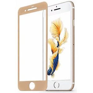 3D glas screen protector voor iPhone 7 / 8 Plus (5,5 inch) goud