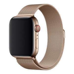 Apple Watch 44mm Milanese Horlogebandje (Goud)