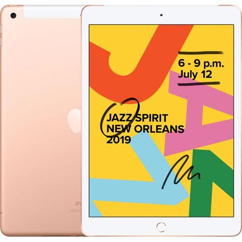 Apple iPad 2019 128GB Wifi + 4G (Goud)