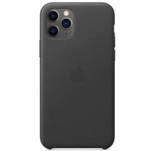 Apple leather case iPhone 11 Pro Max black