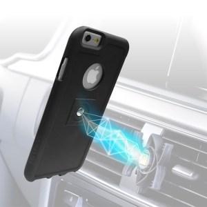 Tetrax Apple iPhone 6 / 6S XCase + Smart houder - Zwart