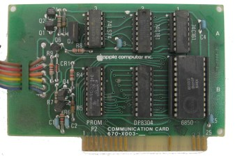 Apple II Communications Card