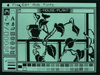 MousePaint on Apple IIe