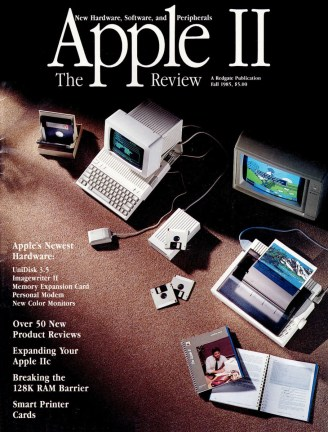 Apple II Review, Fall 1985 cover