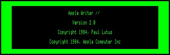 Apple writer
