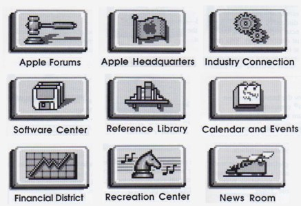 AppleLink icons