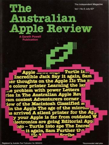 Australian Apple Review v1n6, July 1984
