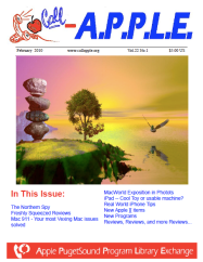 Call-A.P.P.L.E. Feb 2010 cover