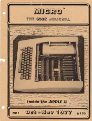 Micro, Oct 1977, 1st issue