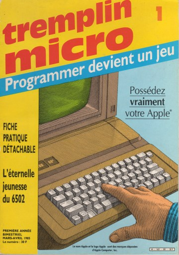 Tremplin Micro, Mar 1985
