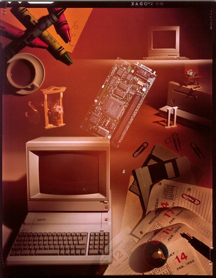 Apple II Guide 1990 original picture