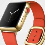 ساعة Apple Watch Edition حمراء
