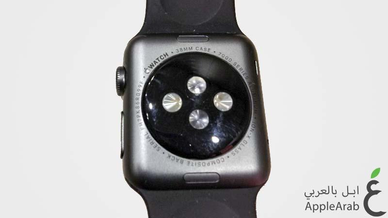 تقشر طلاء ساعة Apple Watch