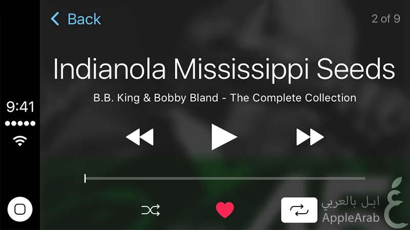 نظام CarPlay في iOS 9 Beta 5