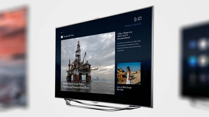 تصميم تخيلي لـ iOS 9 على Apple TV