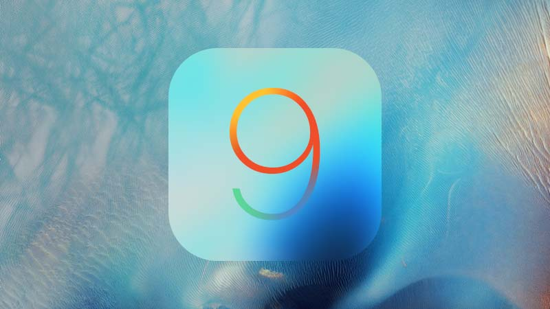 شعار نظام iOS 9