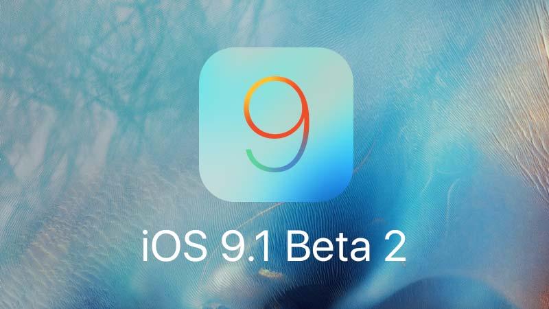 نظام iOS 9.1 Beta 2