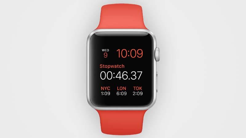ساعة Apple Watch الرياضية