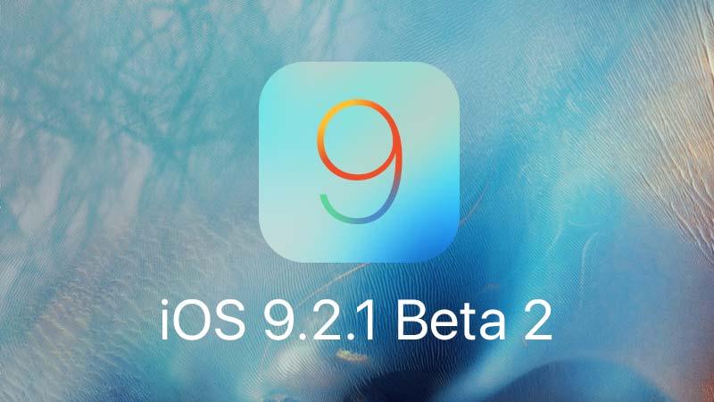 تحديث iOS 9.2.1 Beta 2