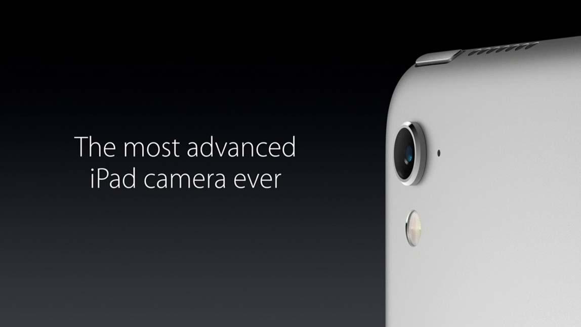 كاميرا الايباد برو 9.7 إنش