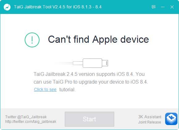 جيلبريك TaiG لـ iOS 8