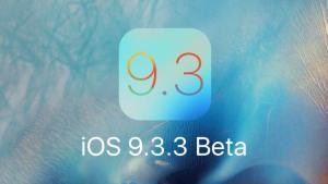 إصدار iOS 9.3.3 بيتا