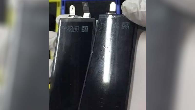 تسريب بطارية الايفون 7