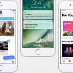 نظام iOS 10 على الايفون 6s